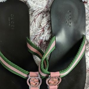 Gucci Shoes - Authentic Gucci Slippers & dustbag.